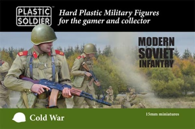 PSC 15mm Cold War Soviet Infantry