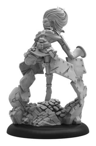 Ascendant Mentalist - WARMACHINE Crucible Guard Trancer Solo