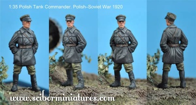 1:35 Polish FT17 Tank Commander (1)