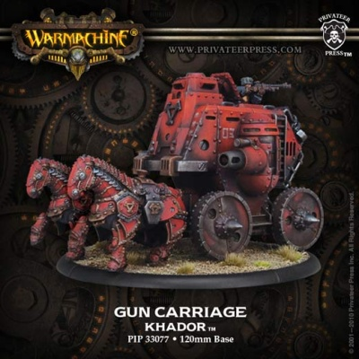 Gun Carriage Battle Engine (Resin)