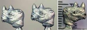 Rhino heads (4)