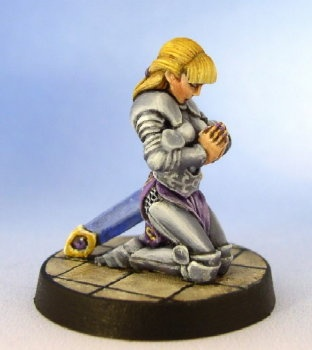 Tiriel, Paladin kneeling