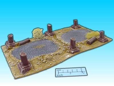 Geländestück alte Wüstenstrasse