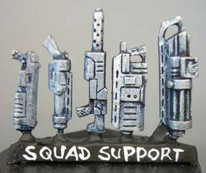 Squad support weapons (a) for Grymn (5)