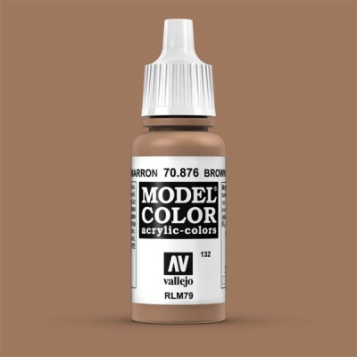 Model Color 132 Sandgelb Dunkel (Brown Sand) (876)