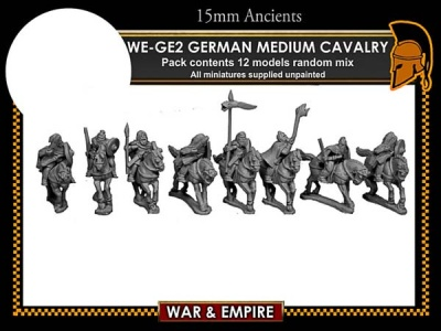 German Medium cavalry