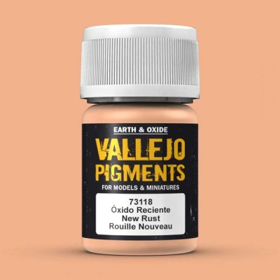 Vallejo Pigment Fresh Rust 30ml