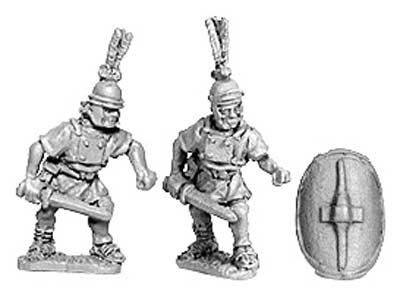 Hastati w/sword (8 from 2 designs)