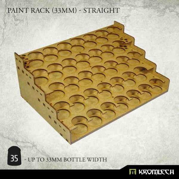 Paint Rack (33mm) - Straight
