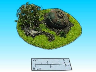 Geländestück Tank
