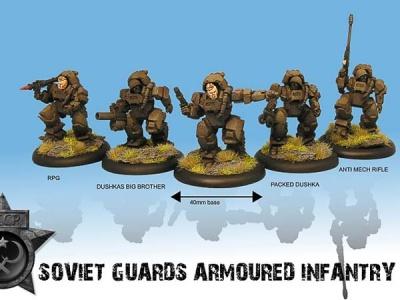 Soviet Guard Armoured Squad Box (5)