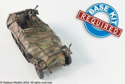 SdKfz 251/16 C/D expansion kit (1/56)