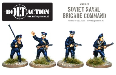 Soviet Naval Brigade Command (3)