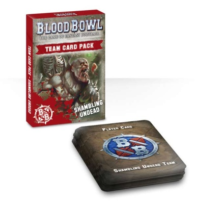Blood Bowl Teamkarten: Shambling Undead