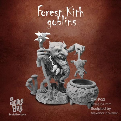 Forest Kith Goblins: Mad Shaman (1)