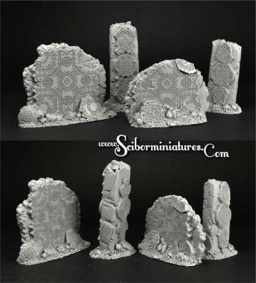 Dwarven Ruins Terrain #3