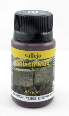 Vallejo Weathering Effects Splash Mud Brown 40 ml