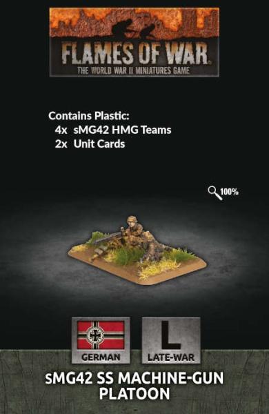sMG42 SS Machine-gun Platoon (Plastic)