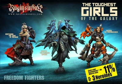 Character (Heroines) Box : The Freedom Fighters (JB,KST,IE)