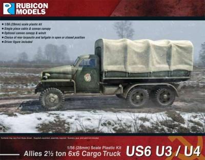 US6 U3/U4 2¢ ton 6x6 Truck (Studebaker)