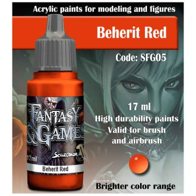 Scalecolor Fantasy 05 Beherit Red (17ml)