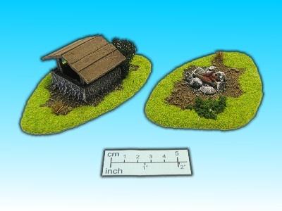 Geländestück Feuerstelle