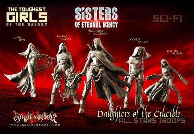 Daughters of the Crucible - All Stars Troops (SistersSF)