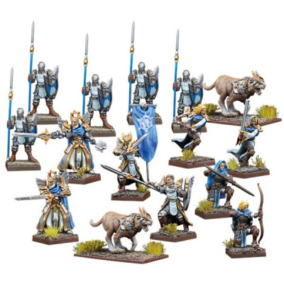 Kings of War Vanguard: Basilean Warband Set