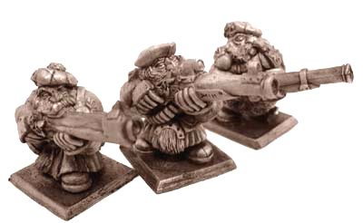 Zwergen Musketen II