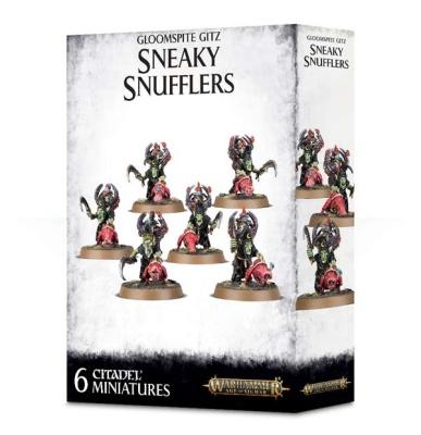 Gloomspite Gitz: Sneaky Snufflers mit Snufflesquigs