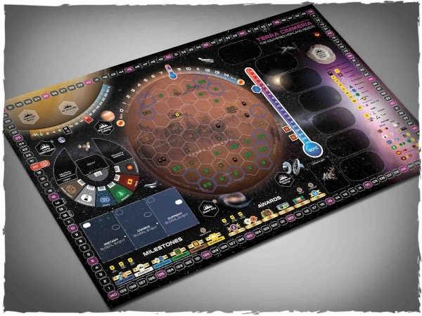 Game mat - Terraforming Mars - Terra Cimmeria