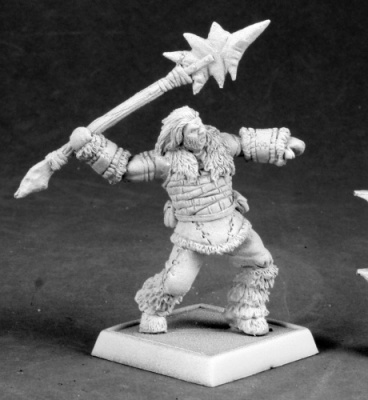 Barbarian Spearthrower