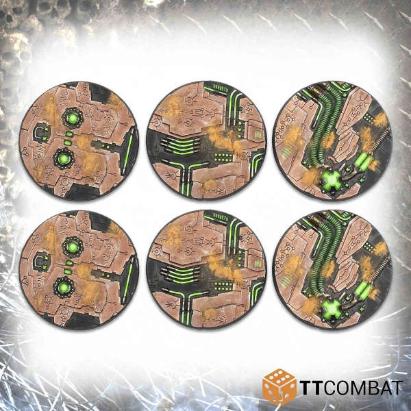 60mm Tomb World Bases (6)