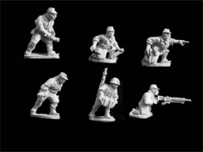 Japan Heavy Machine Gunners