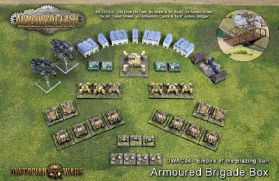 Blazing Sun Armoured Brigade Box