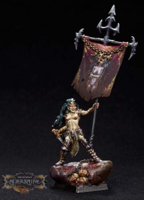 Dark Elf Standard Bearer