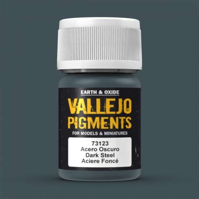 Vallejo Pigment Dark Steel 30ml