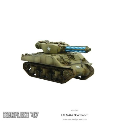 M4A9-T Sherman with Tesla Cannon (OOP)