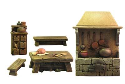 Mittelalterliche Küche
