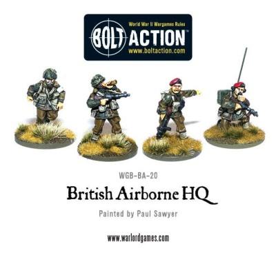 """British Paratrooper 3"""" Medium Mortar Team"""