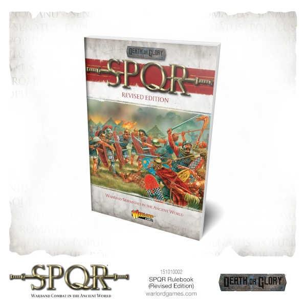 SPQR: Death or Glory Rulebook