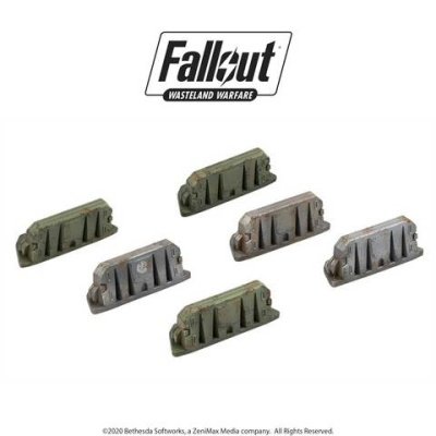 Fallout: Terrain Expansion: Military Barricades