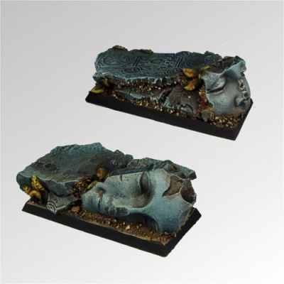 Ancient Ruins 25mm / 50mm square bases