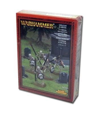Skelettkrieger (Kleine Infanteriebox)
