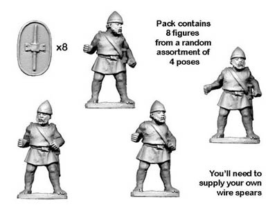 Numidian Trained Infantry (8)