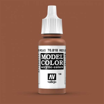Model Color 136 Rotes Leder (Red Leather) (818)