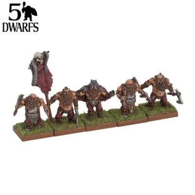 Dwarf Berserkers Command (5)