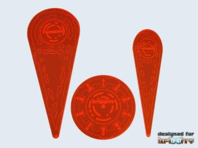 Infinity Templates (3) orange