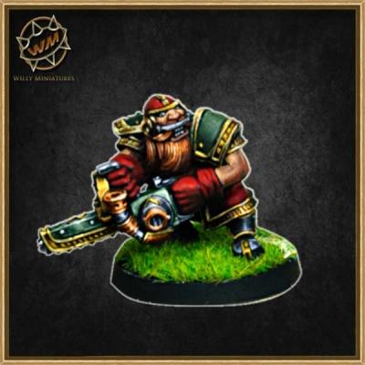 Dwarf Chainsword