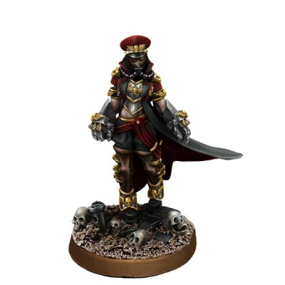 Female Commissar with Fists of Power